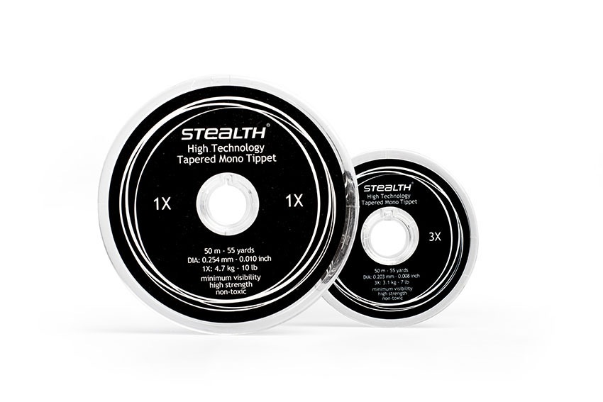 STEALTH High Technology Tapered Mono Tippet 1X